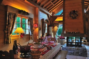 interrieur chalet